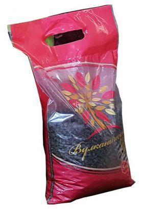 Вулканический туф Черный Кристалл - 5 кг